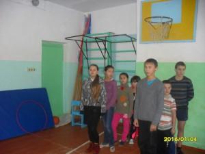 4 января -день Спортивных состязаний в Краснопоселковской ООШ